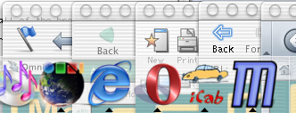 All browsers in the Dock